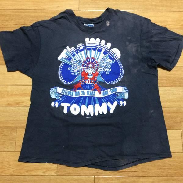 80'sモノ The Who記念TシャツTommy KINKS Stones Elton Jon