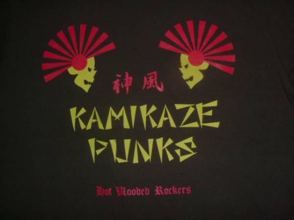 限定品神風PUNK ROCK R&RパンクロックTシャツ 検/横道坊主 ザ ストリートビーツ KENZI The POGOザ ポゴ G.D. FLICKERS GD フリッカーズ