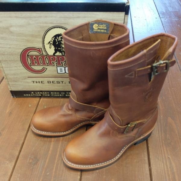 Lower Chippewa engineer boots 91066 25.5㎝ TAN free shipping