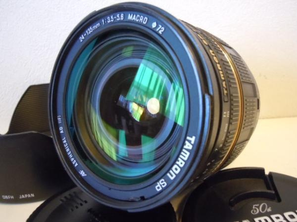 ☆銘玉極上美品タムロン SP 24-135mm F3.5-5.6 Macro Canon 保証