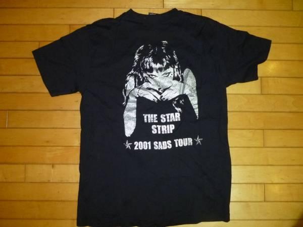 激レア●SADS 2001 tour THE STAR STRIP Tシャツ 美品