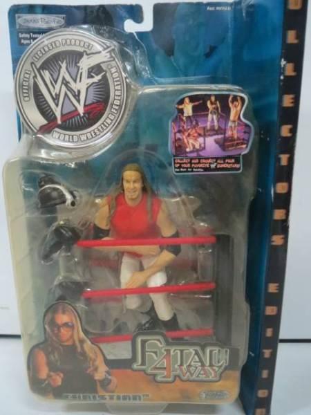 クリスチャン WWE WWF プロレスフィギュア FATAL 4-WAY /Jason グッズの画像