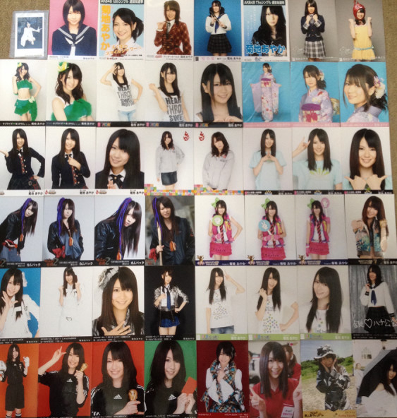AKB48 生写真 菊地あやかのみ 162枚 希少 ライブ・総選挙グッズの画像