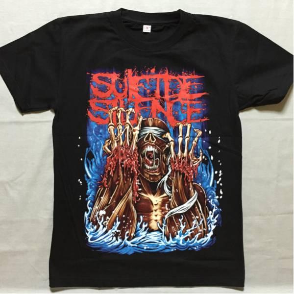 バンドTシャツ スーサイド サイレンス(Suicide Silence) 新品 M