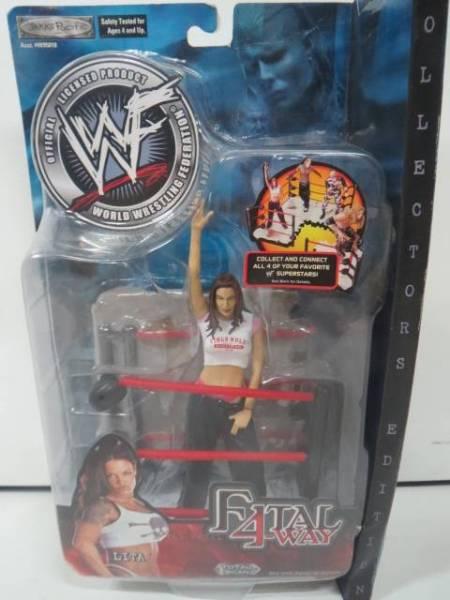 リタ WWE WWF プロレスフィギュア FATAL 4-WAY 女性レスラー グッズの画像