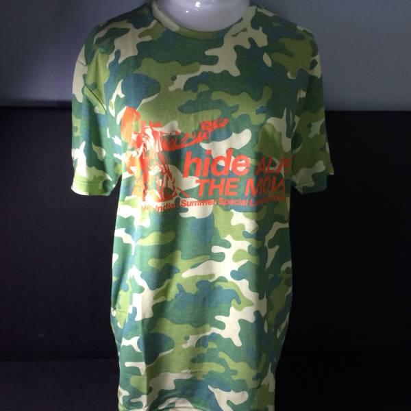 【新品・未使用】hide ALIVE THE MOVIE Tシャツ Lサイズ 迷彩 X JAPAN ヒデ Xジャパン
