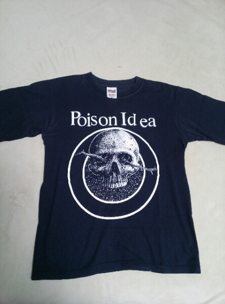 中古 Poison Idea Tシャツ 黒 youth L / cro-mags gauze gism