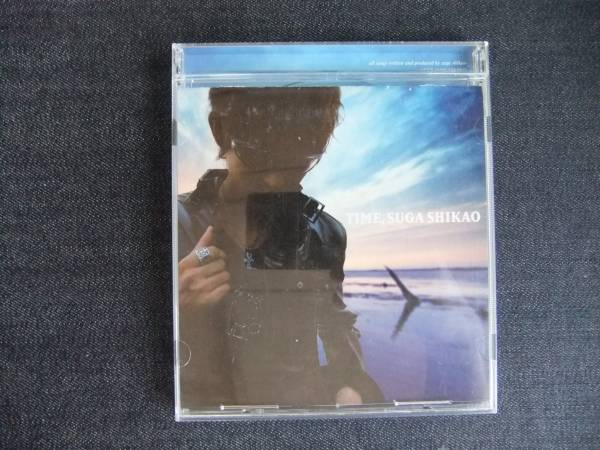 CDアルバム-3   スガシカオ  TIME   帯付き_画像1