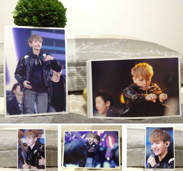 EXO-K★ベクヒョン★2013年 Dream Concert S-1★FC生写真40枚