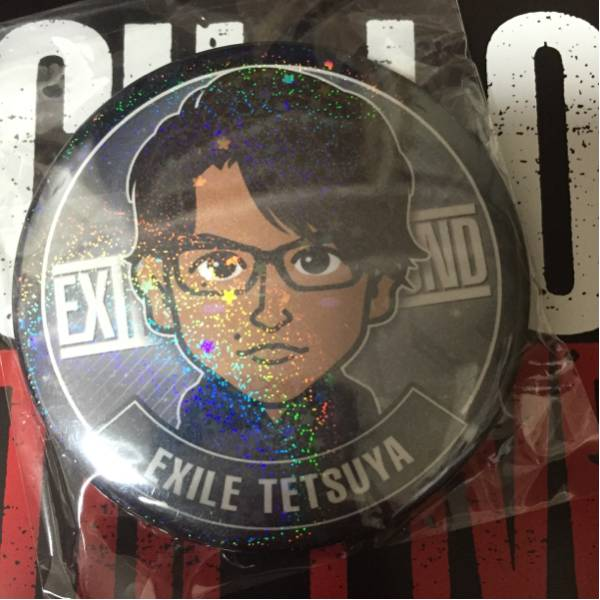 HiGH&LOW THE LIVE EXILE THE SECOND TETSUYA モバイルデカ缶バッジ