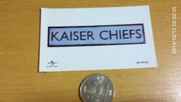 カイザー・チーフス (Kaiser Chiefs) ステッカー