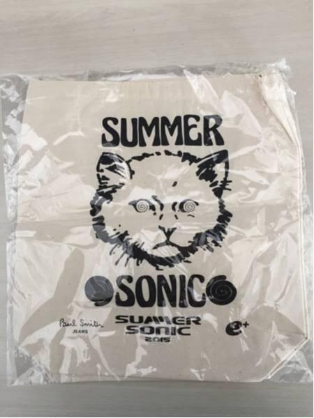 SUMMER SONIC 2015 特典 トートバック サマソニ 非売品 未開封