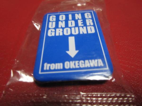 ■ GOING UNDER GROUND / バッジ