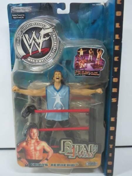 クリス・ジェリコ WWE WWF プロレスフィギュア FATAL 4-WAY グッズの画像