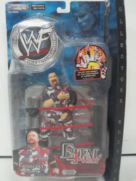 ババ レイ ダッドリー WWE WWF プロレスフィギュア FATAL 4-WAY グッズの画像
