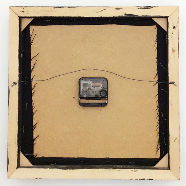 送料無料 アンティークウォールクロック UNKNOWN/ヴィンテージ壁掛け時計アメリカ製usa製ストリングスアートウォールデコイームズ50s60s70s_画像2