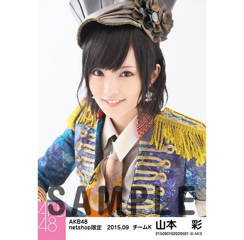 AKB48 2015年9月度 netshop限定個別生写真5枚セット 山本彩 ライブ・総選挙グッズの画像