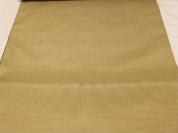 新品正絹反物★鹿児島県・本場縞大島紬着尺★白茶色ほのか縞柄です_画像2
