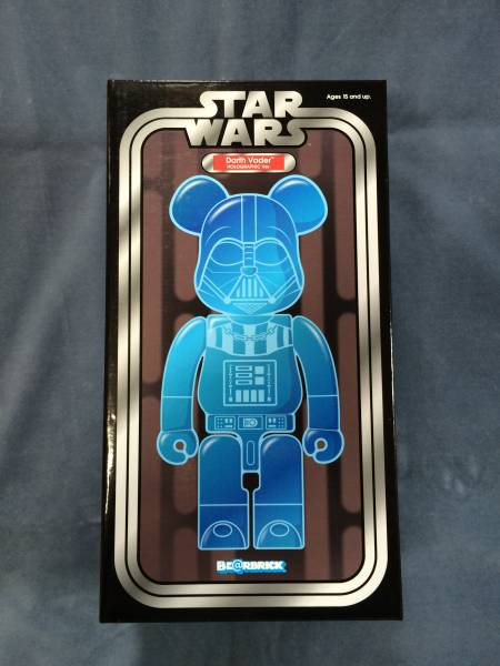 BE@RBRICK 「DARTH VADER HOLOGRAPHIC Ver.400%」 ベアブリック_画像1