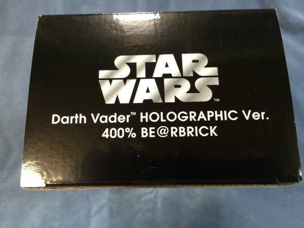 BE@RBRICK 「DARTH VADER HOLOGRAPHIC Ver.400%」 ベアブリック_画像2