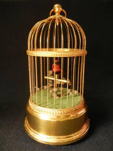 REUGE MUSIC リュージュ シンギングバード 鳥籠 オルゴール 小鳥
