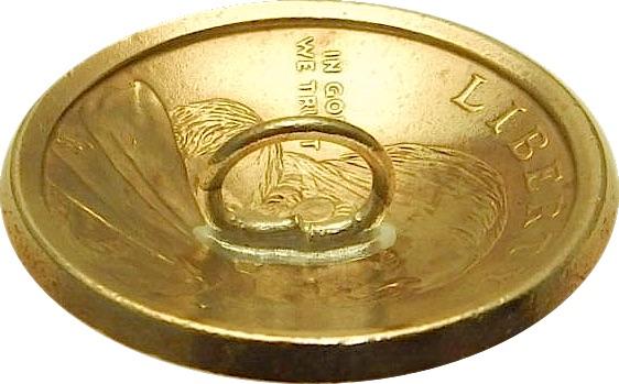 コンチョ 1ドル 「ホースライド」2012年 (平成24年) ループ式_画像2