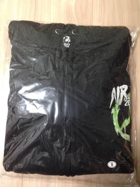 【未着用】 AIR JAM 2012 パーカー 黒Sサイズ Hi-STANDARD ピザオブデス ken yokoyama ライブグッズの画像