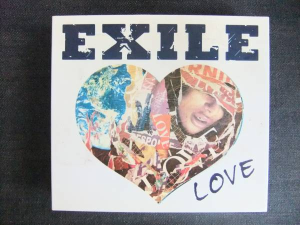 CDアルバム-3  EXILE LOVE  3枚組(DVD2枚)_画像1