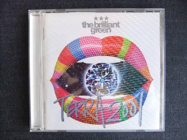 CDアルバム-3    the brilliant green  TERRA2001 帯付_画像1