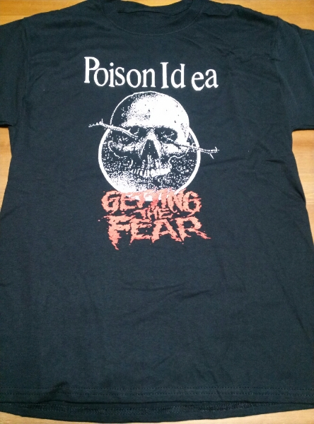 Poison Idea Tシャツ 黒M getting the fear / bad brains black flag