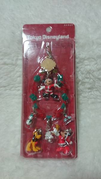 2003★Disney クリスマスディズニー ミッキーストラップ