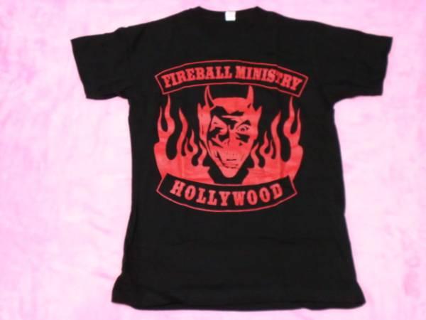 FIREBALL MINISTRY ファイアボール ミニストリー ロックT バンドT ツアーT S