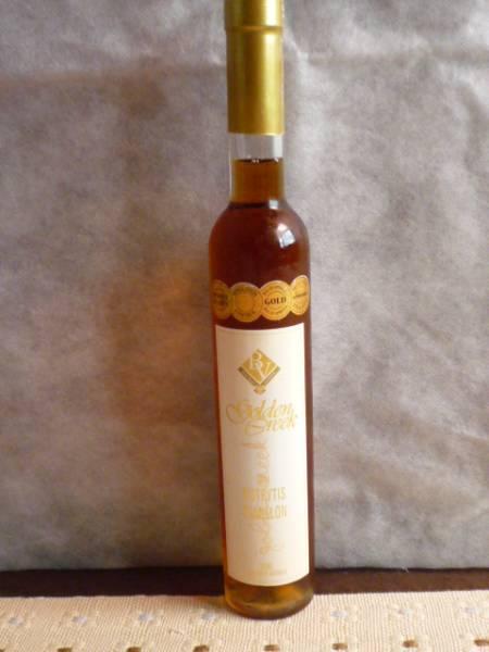 オーストラリア貴腐ワイン ゴールデンクリーク2001年 375ml_画像1