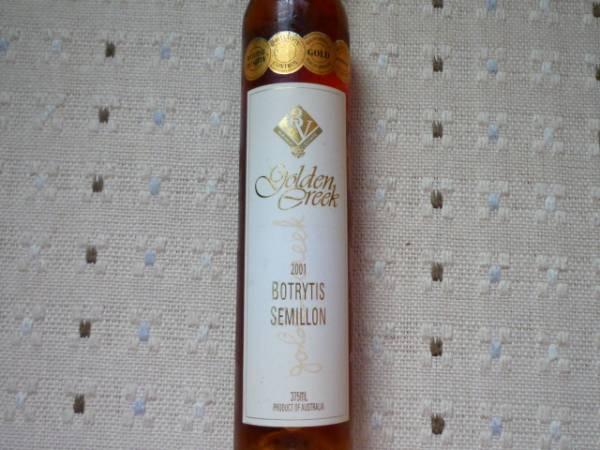 オーストラリア貴腐ワイン ゴールデンクリーク2001年 375ml_画像2