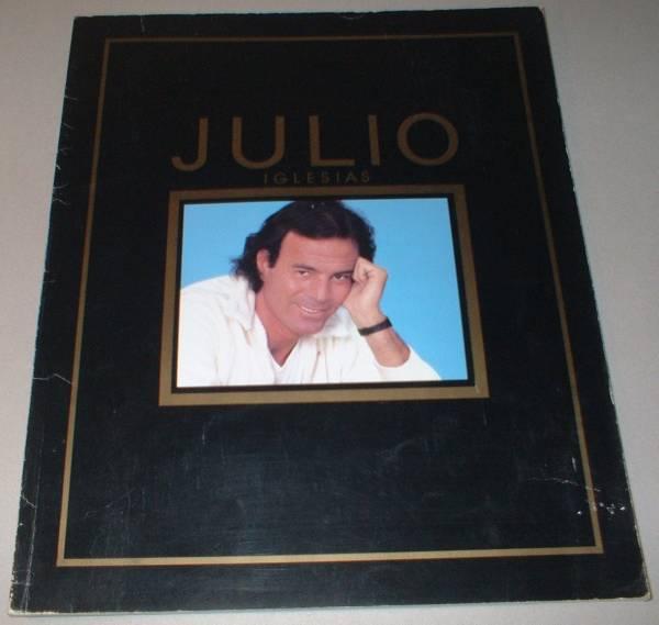 パンフ フリオ・イグレシアス [IN JAPAN'83] JULIO IGLESIAS