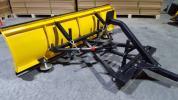 未使用 スノープラウ 排土板 ハイド板 175センチ 凡用