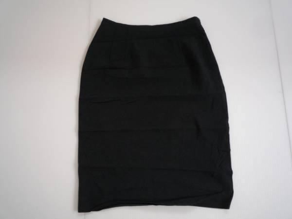 【お買い得!】 ● STRAWBERRY-FIELDS ● 台形スカート 濃グレー 膝丈 2