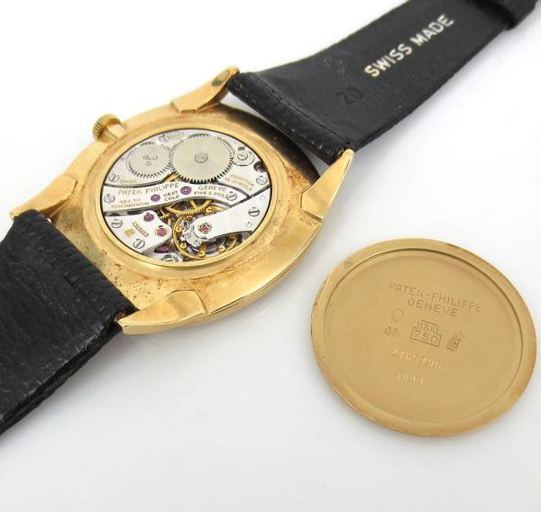 《Tiffanyティファニー&パテックフィリップ》18K腕時計ウォッチ_画像3