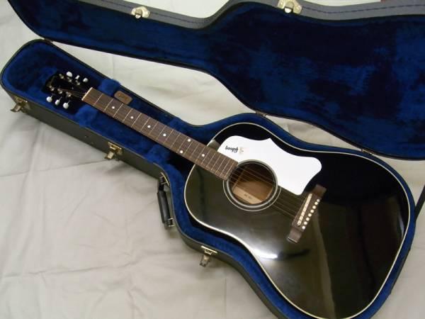 【免税店 東京 質屋おぢさん】ギブソン Gibson アコースティックギター J-45 EB ADJ 美品