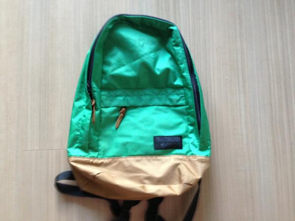 ◆BARROWGANG◆ рюкзак ◆ зеленый ◆ подержанный товар