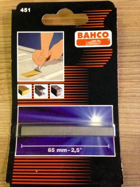 BAHCO サンドビック 超硬刃付スクレーパー 665用替刃 #451_画像1