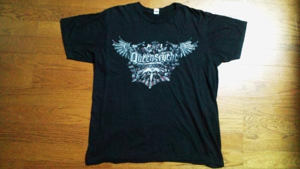 QUEENSRYCHEクイーンズライク来日公演購入Tシャツ!