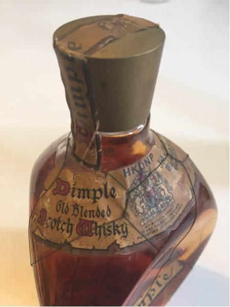 ディンプル スコッチウイスキー 未開封 ビンテージ ボトル 古酒_画像3
