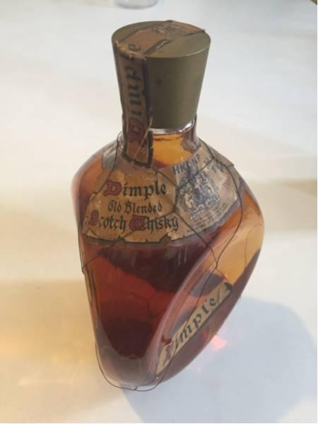 ディンプル スコッチウイスキー 未開封 ビンテージ ボトル 古酒_画像2