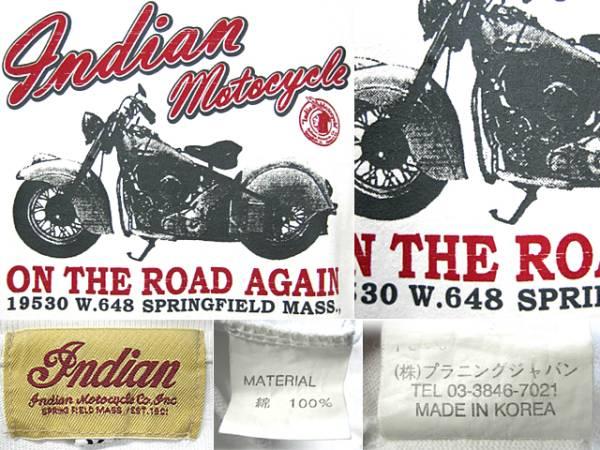 インディアンモトサイクル(Indian Motocycle)激渋ロンT_画像3