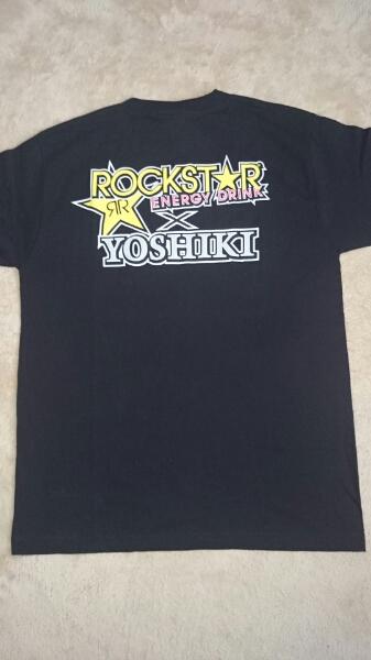 ヨシキ YOSHIKI ROCKSTAR 半袖 Tシャツ X JAPAN  ライブグッズの画像