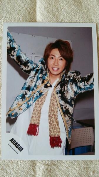 新品 嵐 ARASHI 相葉雅紀 公式写真 ジャニーズショップ グッズ コンサート 写真 笑顔