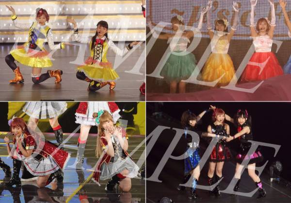 Pile&μ's【ラブライブ】『Final LoveLive! 4/1 最終日』生写真