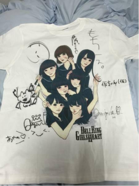 ベルリン少女ハート 直筆全員サイン入Tシャツ M 新品 ベルハー