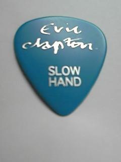 エリッククラプトン ギターピック 武道館 ジェフベック ライブグッズの画像